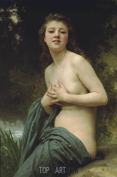 Bouguereau | Spring Breeze, 1895