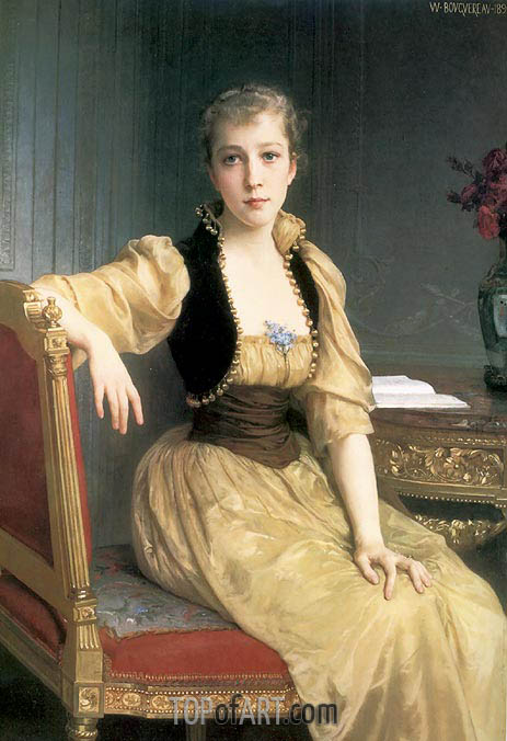 Lady Maxwell, 1890 | Bouguereau | Painting Reproduction