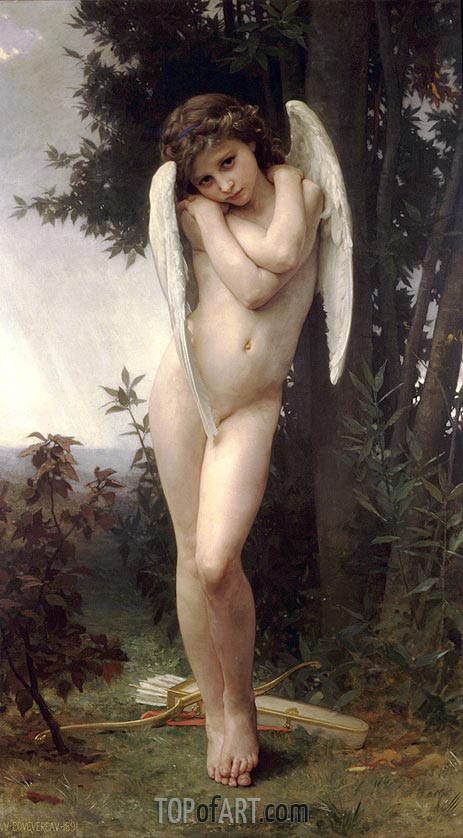 Wet Cupid, 1891 | Bouguereau | Painting Reproduction