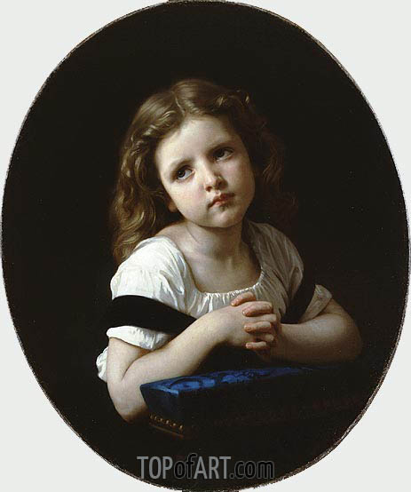 Bouguereau | The Prayer, 1865