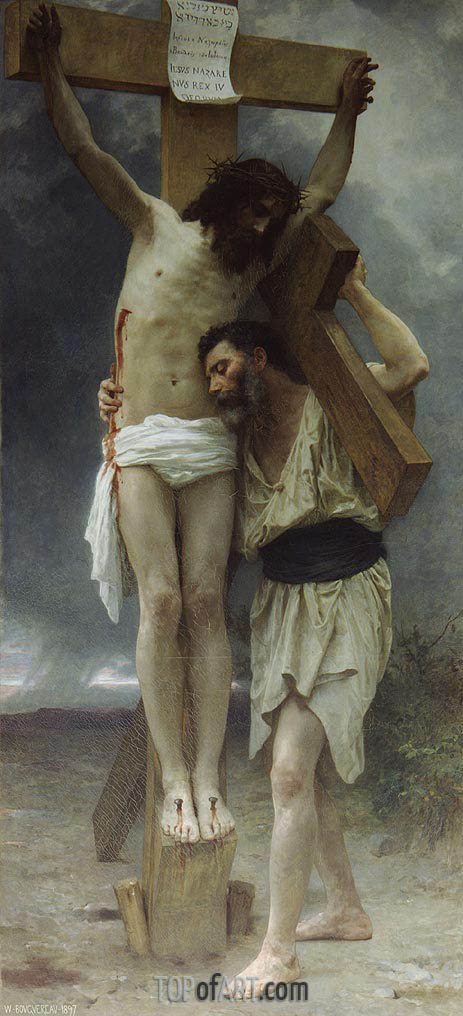 Compassion!, 1897 | Bouguereau| Painting Reproduction