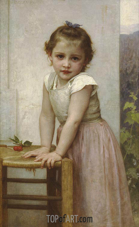 Yvonne, 1896 | Bouguereau| Painting Reproduction