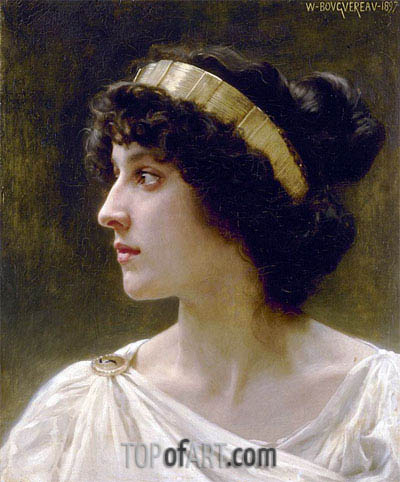Irene, 1897 | Bouguereau | Painting Reproduction
