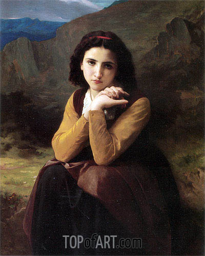 Bouguereau | Mignon, 1869