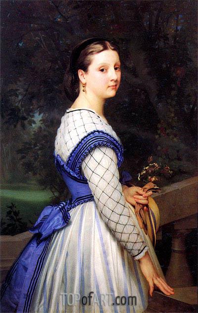 Bouguereau | The Countess de Montholon, 1864
