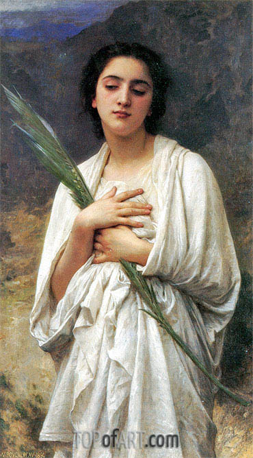The Palm Leaf, 1894 | Bouguereau | Painting Reproduction