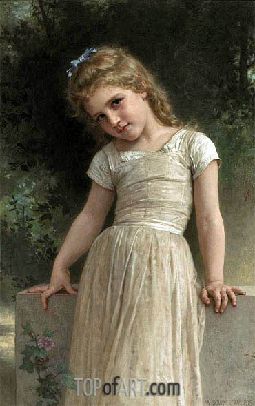 The Mischievous One, 1895 | Bouguereau | Gemälde Reproduktion
