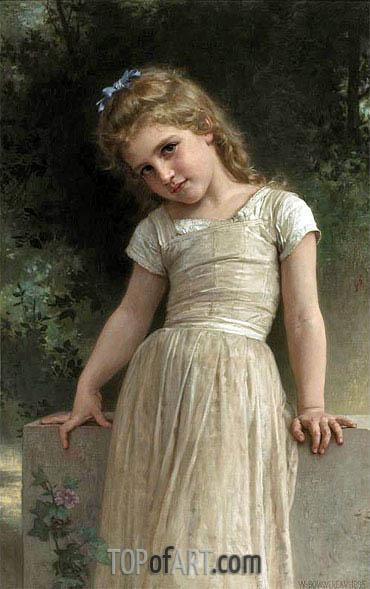 Bouguereau | The Mischievous One, 1895