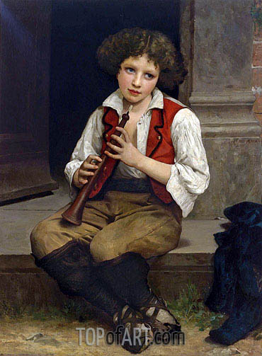 Pifferaro, 1874 | Bouguereau | Painting Reproduction