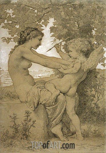 Bouguereau | Loves Resistance, 1885