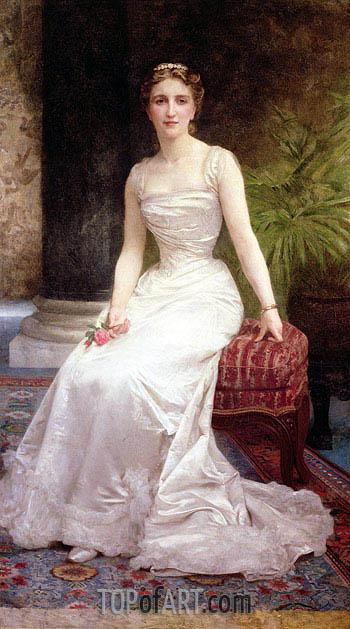 Bouguereau | Portrait of Madame Olry-Roederer, 1900