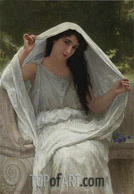 The Veil, 1898 | Bouguereau| Painting Reproduction