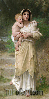 The Lamb, 1897 | Bouguereau | Painting Reproduction