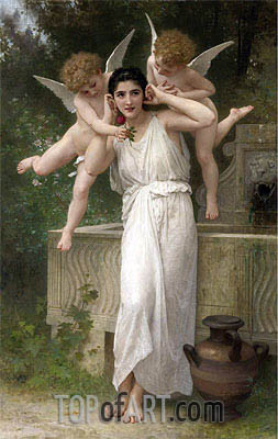Youth, 1893 | Bouguereau| Painting Reproduction