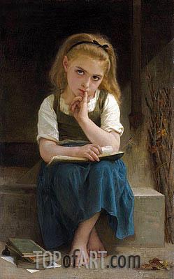 Bouguereau | Difficult Lesson, 1880