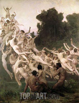 Bouguereau | The Oreads, 1902