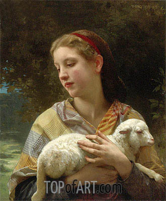 Innocence, 1873 | Bouguereau | Painting Reproduction