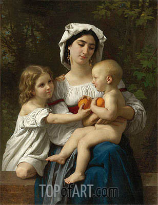 Oranges, 1865 | Bouguereau| Painting Reproduction