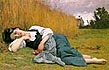 Bouguereau - Rest in Harvest - Hand-Painted Fine Art Reproduction