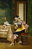The Lute Player | Adolphe Alexandre Lesrel
