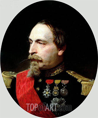 Napoleon III, 1868 | Adolphe Yvon | Painting Reproduction