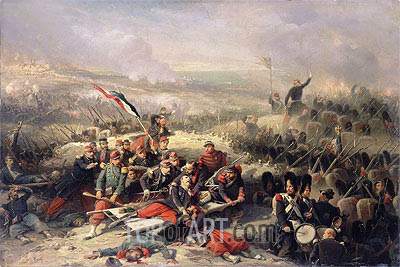 The Taking of Malakoff, 8th September 1855,  | Adolphe Yvon| Painting Reproduction