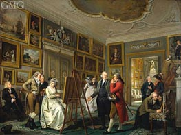 The Art Gallery of Jan Gildemeester, c.1794/95 by Adriaen de Lelie | Painting Reproduction