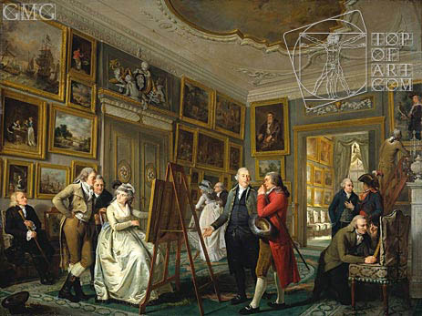 Adriaen de Lelie | The Art Gallery of Jan Gildemeester, c.1794/95