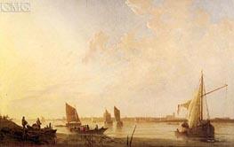Dordrecht: Sunrise, c.1650 von Aelbert Cuyp | Gemälde-Reproduktion