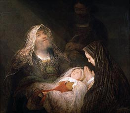 Simeon's Song of Praise, c.1700 by Aert de Gelder | Painting Reproduction
