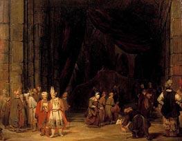 The Forecourt of the Temple, 1679 von Aert de Gelder | Gemälde-Reproduktion