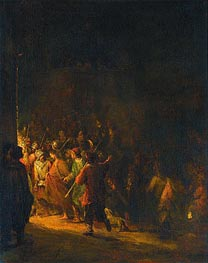 The Arrest of Christ | Aert de Gelder | outdated