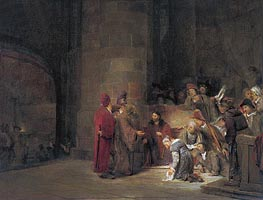 Christ and the Woman taken in Adultery | Aert de Gelder | outdated