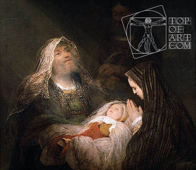 Simeon's Song of Praise, c.1700 | Aert de Gelder | Painting Reproduction