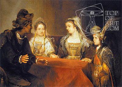 Aert de Gelder | The Betrothal of Tobias, undated