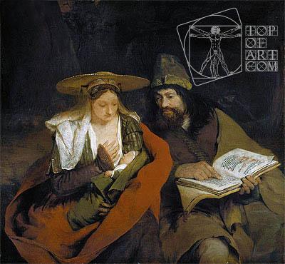 Aert de Gelder | Rest on the Flight into Egypt, c.1690