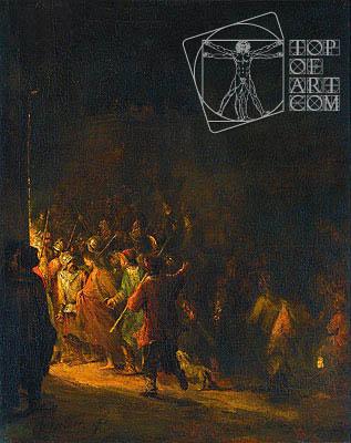 Aert de Gelder | The Arrest of Christ, 1727