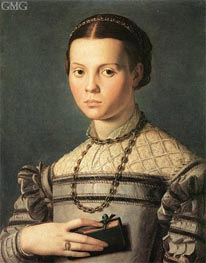 Portrait of a Young Girl | Bronzino | outdated