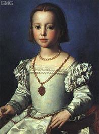 Bia, Illegitimate Daughter of Cosimo I de' Medici | Bronzino | outdated