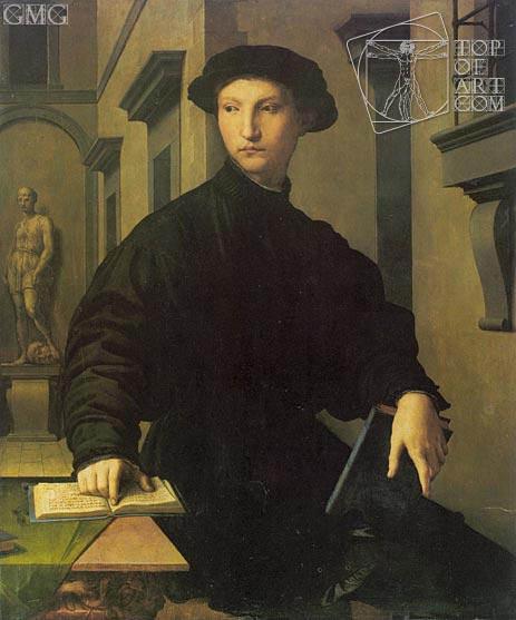 Bronzino | Portrait of Ugolino Martelli, c.1537/39