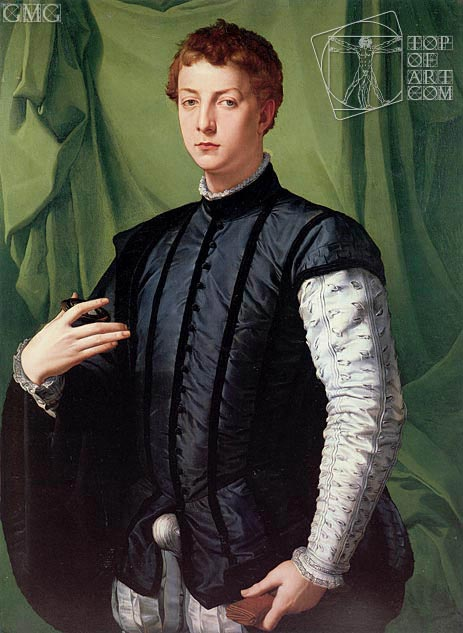 Portrait of Ludovico Capponi, c.1550/55 | Bronzino | Painting Reproduction