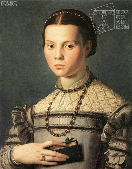 Portrait of a Young Girl, c.1541/45 | Bronzino | Painting Reproduction