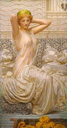 Silver, undated by Albert Joseph Moore | Painting Reproduction