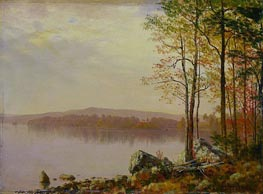 Landscape, 1899 by Bierstadt | Painting Reproduction