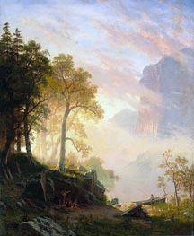 The Merced River in Yosemite | Bierstadt | outdated