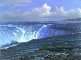 Niagara Falls, 1869 by Bierstadt | Painting Reproduction