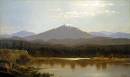 Laramie Peak, 1870 by Bierstadt | Painting Reproduction