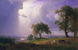 California Spring, 1875 by Bierstadt | Painting Reproduction
