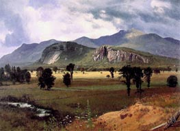 Moat Mountain, Intervale, New Hampshire, c.1862 by Bierstadt | Painting Reproduction