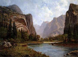 Gates of the Yosemite, c.1882 by Bierstadt | Painting Reproduction